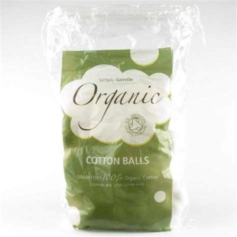 Organic Cotton Wool Balls in 100pack from Simply Gentle
