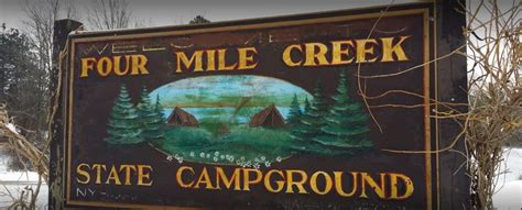 Four Mile Creek State Park Campground - 2 Photos