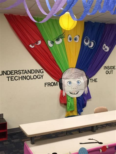 """Wall decoration Disney Pixar's """"Inside Out"""" themed"""
