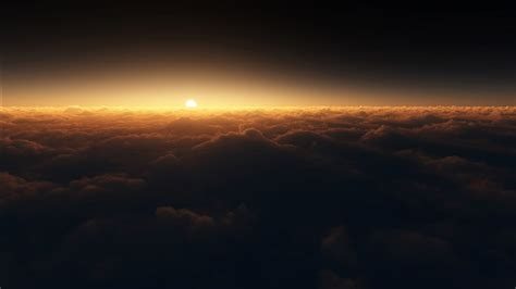 Sunset Clouds Horizon Wallpapers | HD Wallpapers | ID #18552