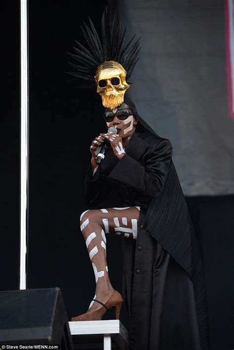 Grace Jones, 67, Gives a Breathtaking -and Topless