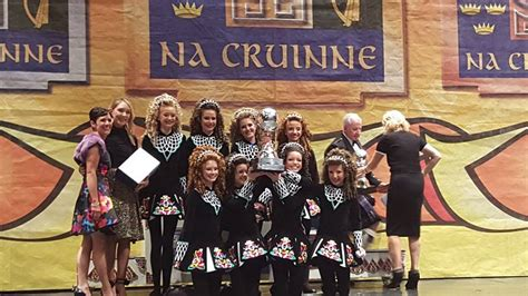 CONGRATS TO OUR FIRST PLACE U-16 Ceili World Globe winners