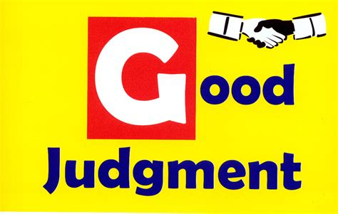 Good Quotes About Judgement