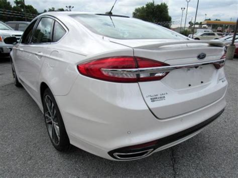 Used 2017 Ford Fusion Titanium in Manchester, PA near
