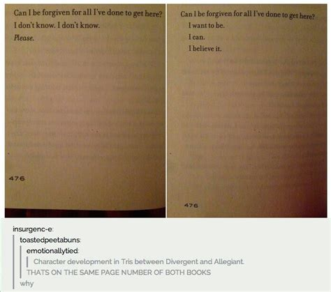 Divergent Quotes With Page Numbers
