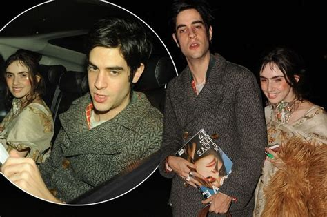 Thomas Cohen and Zoe Sidel look cosy as they leave London