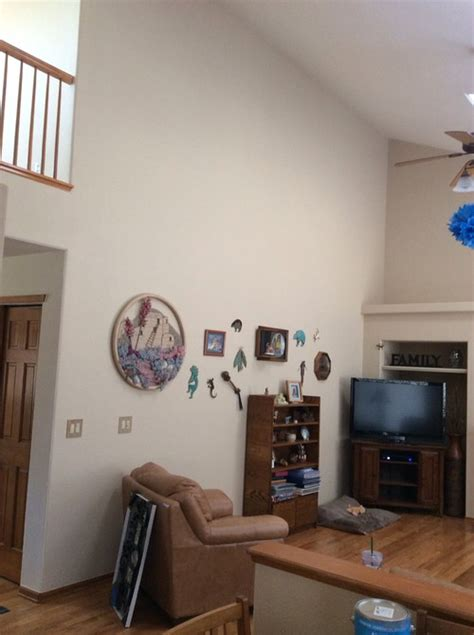 Vaulted ceiling decorating?