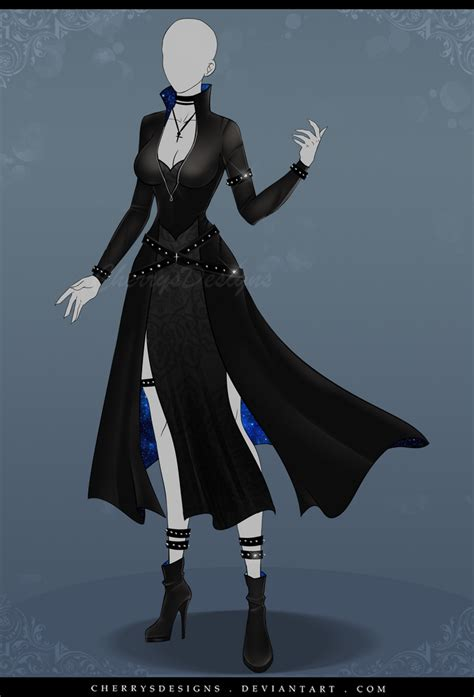 (closed) Auction Adopt - Outfit 615 by CherrysDesigns on
