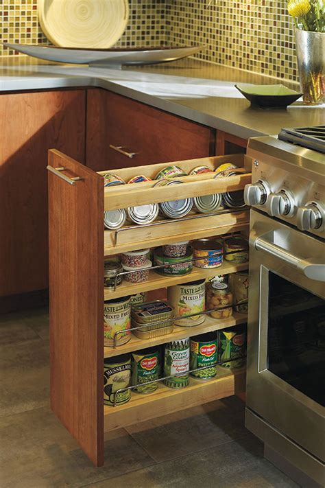 Base Spice Pull Out Cabinet - Decora Cabinetry