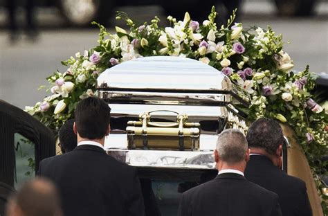 Watch Whitney Houston's Coffin Exiting the Church [VIDEO]