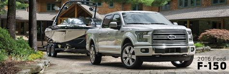 How Much Can the 2016 Ford F-150 Tow?