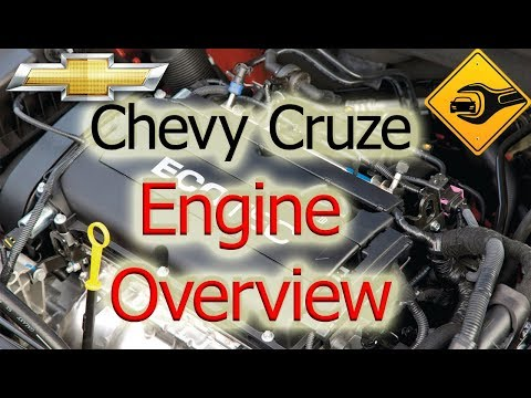 Chevrolet Cruze Owners Manual: Engine Compartment Overview