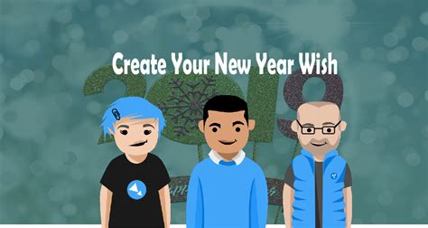 Create Your Happy New Year Wish Message