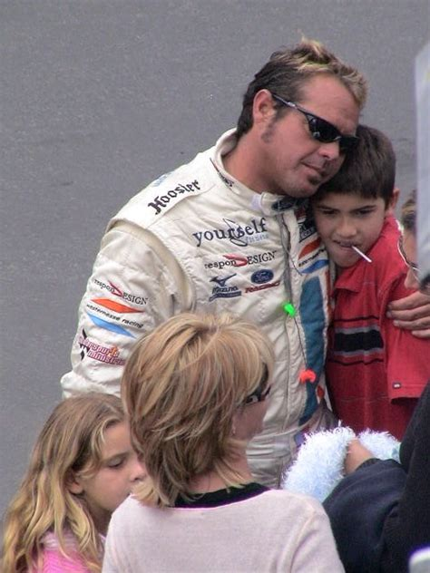 Chad McQueen and family